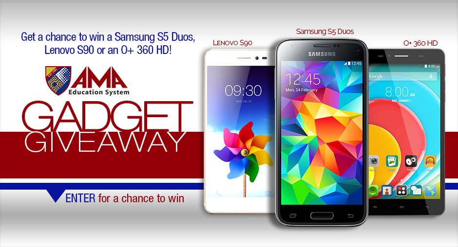GET A CHANCE TO WIN A SAMSUNG S5 DUOS!
