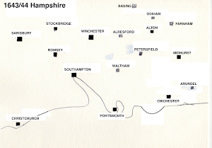 Hampshire Campaign Area