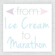 From Ice Cream to Marathon