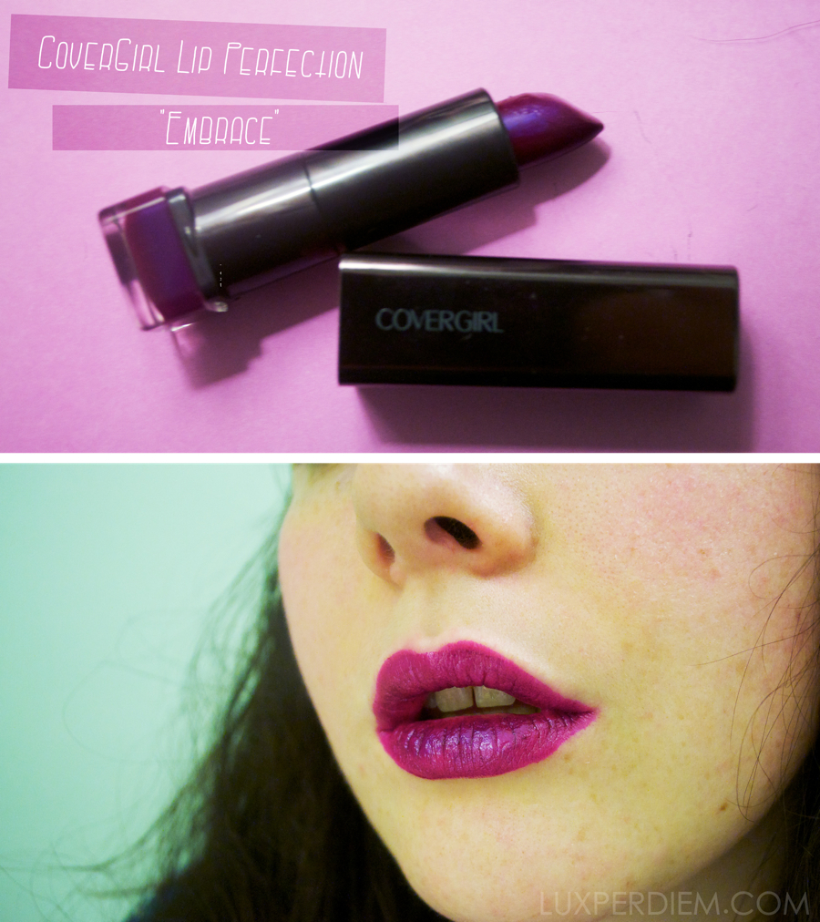 Covergirl Embrace Lipstick This is covergirl lipCovergirl Embrace Lipstick