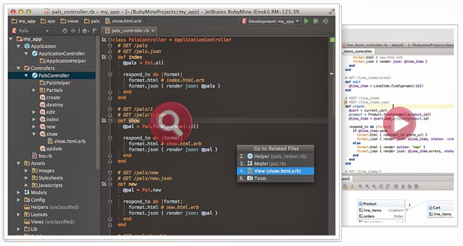 most popular editor for ruby on rails programming language