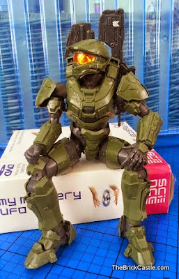 Model figure Halo Master Chief John Level 3 Bandai SpruKit chilling