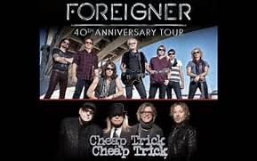 Foreigner & Cheap Trick - Coming August 23, 2017 at the Isleta Amphitheater!