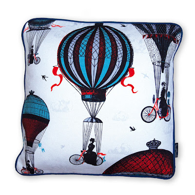 print and cushion by chase and wonder