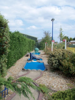 Crazy Golf and Minigolf at The Golden Palm Resort, Chapel St Leonards, near Skegness