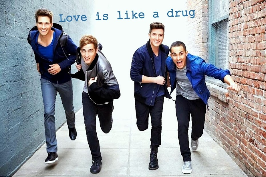Love is like a drug