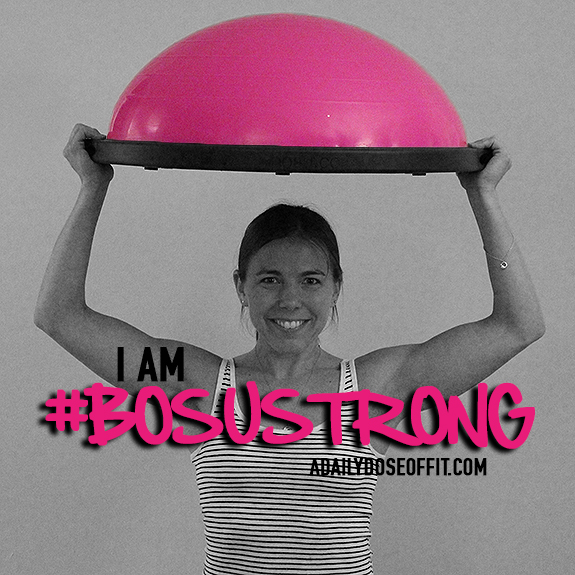 Sweat Pink, BOSU, Fit Approach