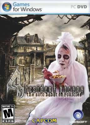 Memasuki rumah hantu yg dijaga oleh sekelompok pocong yg sedang makan