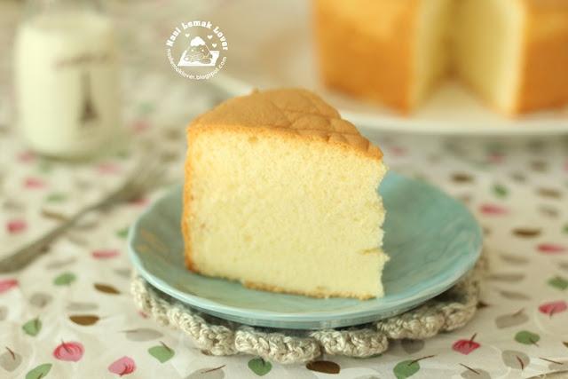 Sponge Cake Egg To Flour Ratio