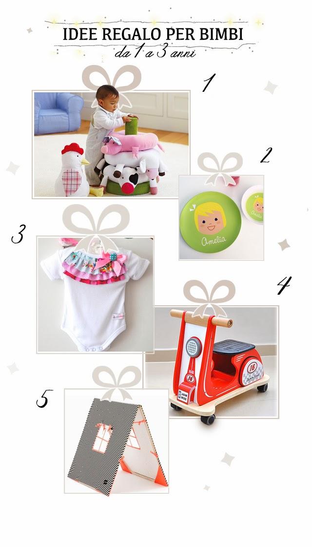 regali originali per bambini da 1 a 3 anni