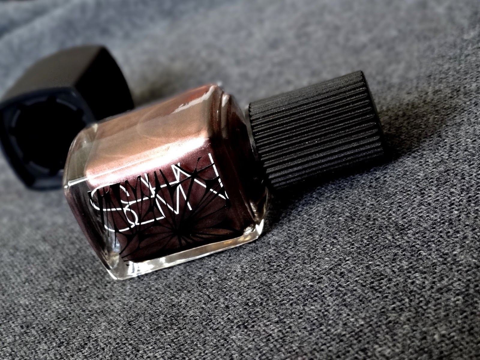 NARS Laced with Edge Holiday Collection Sherwood Nail Polish Review, Photos & Swatches