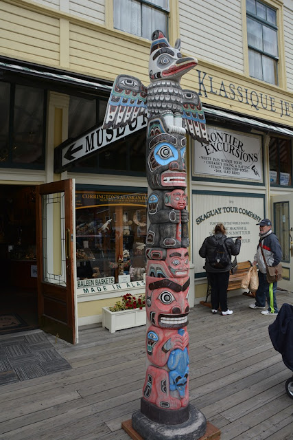 Skagway Alaska totem