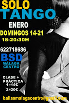 SOLO TANGO EXPRESS, 14 Y 21 ENERO EN BSD BAILAS SOCIAL DANCE MÁLAGA CENTRO.