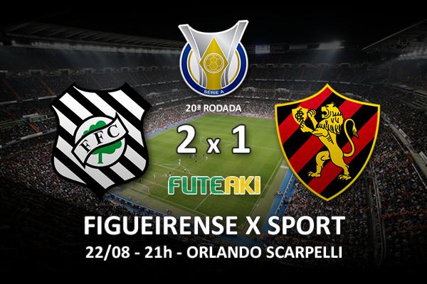 Veja o resumo da partida com os gols e os melhores momentos de Figueirense 2x1 Sport pela 20ª rodada do Brasileirão 2015.