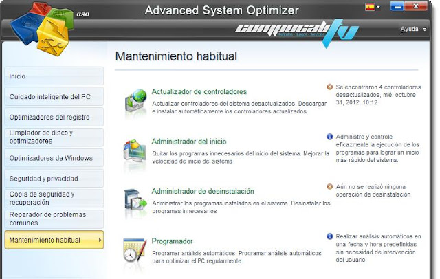 Advanced System Optimizer V3 5 Espa  Ol Descargar 1 Link