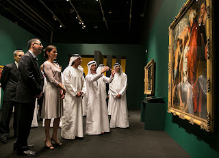 Birth of a Museum Exhibition Opened at Louvre Abu Dhabi