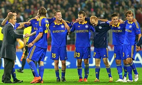 Skenderbeu Korce vs FC BATE Borisov