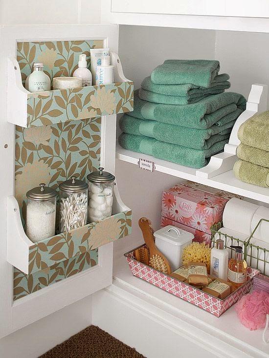 Como organizar um banheiro pequeno? -> Como Organizar Um Banheiro Com Banheira