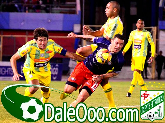 Oriente Petrolero - Ronald Raldes - Thiago Dos Santos - Raúl Cuesta - DaleOoo.com web del Club Oriente Petrolero