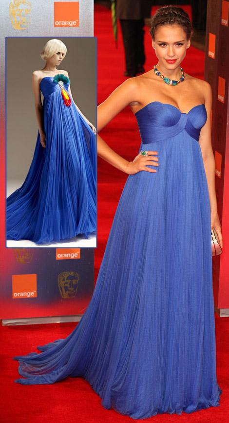 jessica alba dress