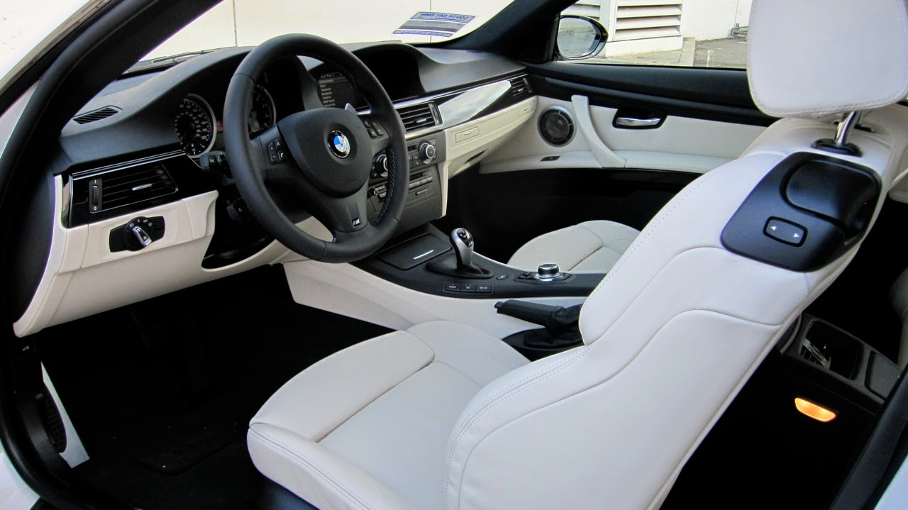BMW E92 M3 Interior Wallpaper