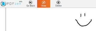 рисование онлайн в PDF-документе