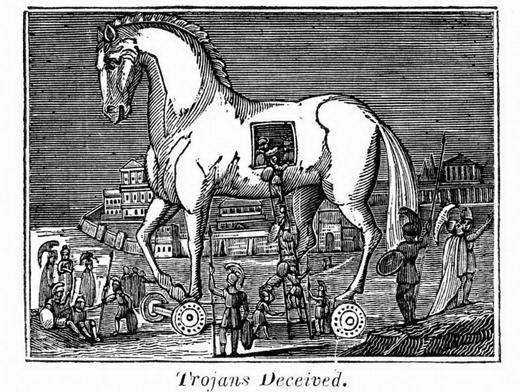 esai sastra, esai tentang cerpen, esai sastra binhad nurrohmat, kuda troya, kuda troya cerpen, cerpen