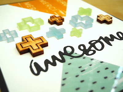 Awesome by Jennifer Ingle #JustJingle #PinkfreshStudio #Cards