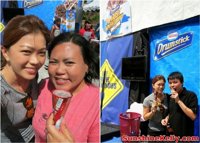 Nestle Drumstick Adventure Challenge, nestle, drumstick, choclate, ice cream, challenge, adventure, cik lily, hui bin,