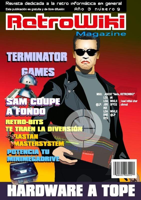 Revista RetroWiki Magazine #09 Terminator