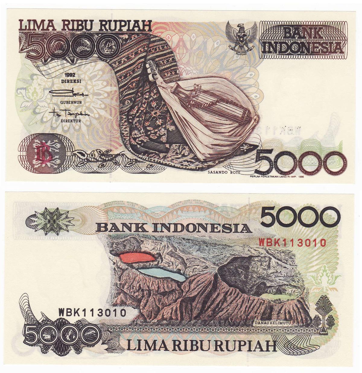 Menjual Uang Kuno Dan Mahar 2017 100 Rupiah Burung Dara Sasando 5000 1992