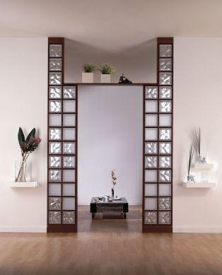 Interior relooking separare gli spazi con il vetrocemento for Pareti divisorie vetrocemento