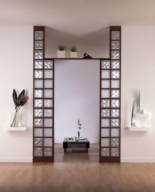 Interior relooking: separare gli spazi con il vetrocemento