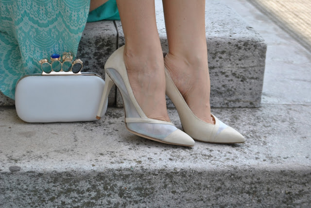 decolleté danilo di lea in camoscio bianco e rete scarpe made in italy made in italy shoes italian shoes danilo di lea shoes come abbinare le scarpe in camoscio suede shoes how to wear suede shoes borsa bianca outfit borsa bianca come abbinare la borsa bianca abbinamenti borsa bianca white bag how to wear white bag fashion bloggers italy blog di moda blogger italiane di moda mariafelicia magno colorblock by felym fashion blog italiani