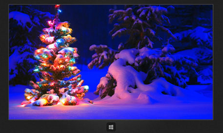 Microsoft Official Snowy Night Theme for Windows 8.1