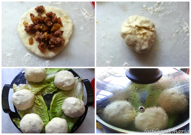Pan al vapor chino