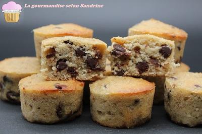 Muffins moelleux chocolat-banane (sans gluten, sans lactose, sans sucre ajouté)