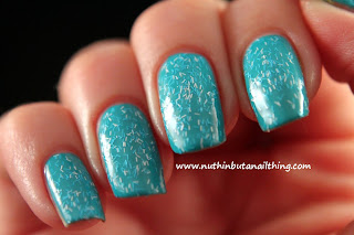 Barry M Confetti Effects Swatches - Bubblegum