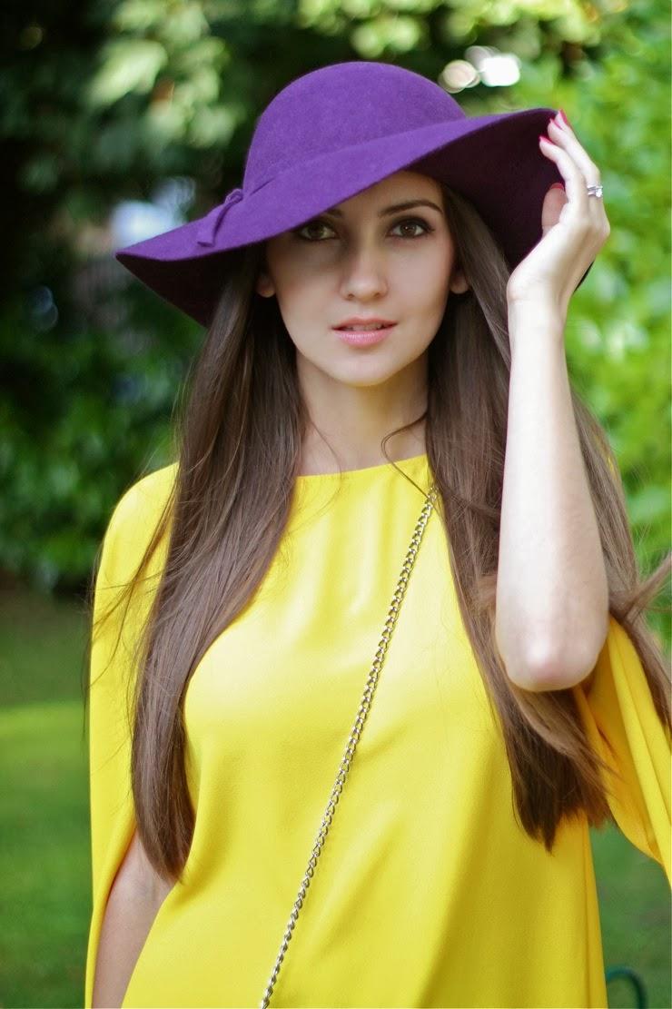 galina thomas, fashion blogger uk, zara, yellow dress, русский блоггер, галина томас, зара, желтое платье
