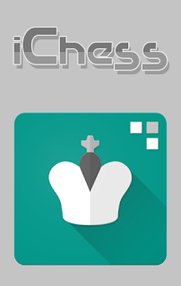 Screenshots of the iChess: Chess puzzles for Android tablet, phone.