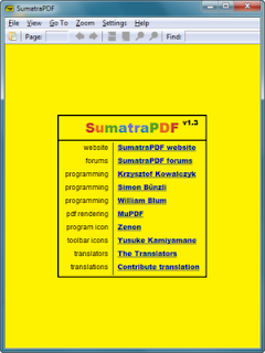 Sumatra PDF 1.6 Final: Viewer PDF Gratis dan Ringan