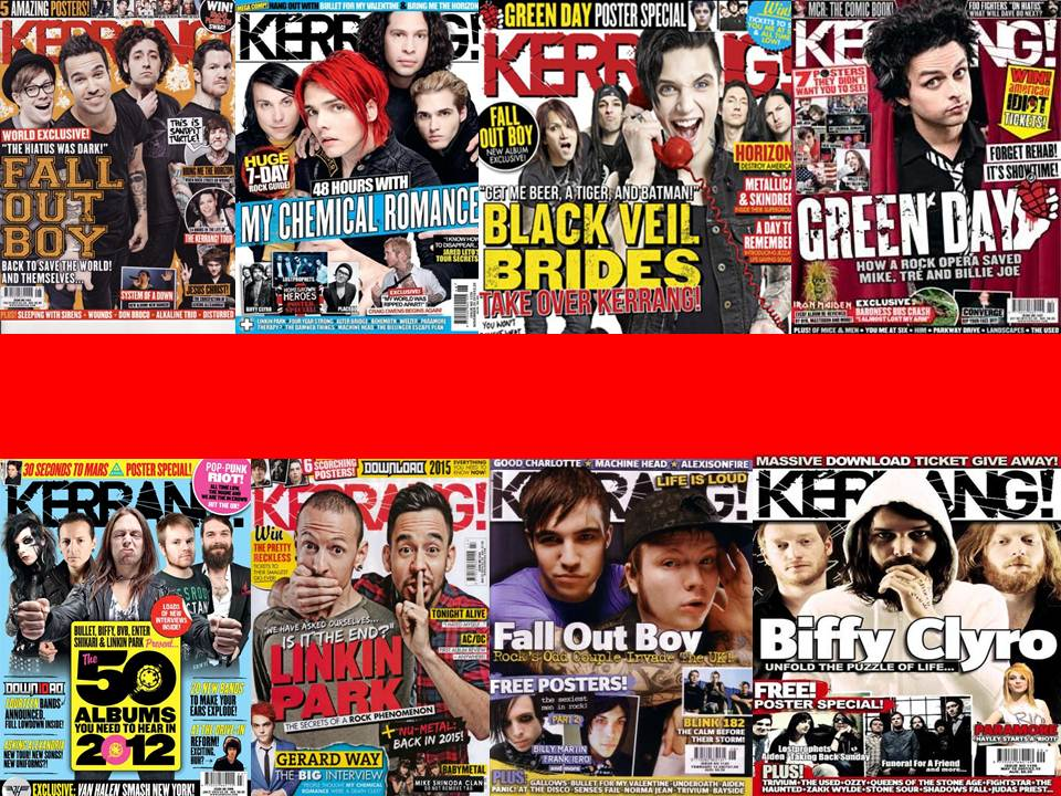 Iu0027ve Chosen The Magazine U0027Kerrang!u0027 As It Is A Rock Magazine That Also  Heavily Features Punk, Pop Punk And Metal Music. The House Style Is Mostly  The Same ...