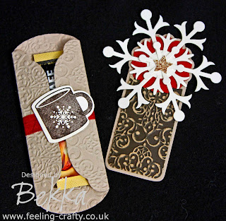 Scentsational Coffee Bookmark by Bekka www.feeling-crafty.co.uk
