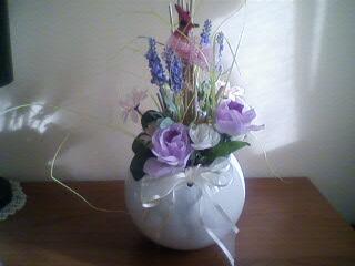 Dal niente a tutto composizioni floreali ovunque for Orchidea finta