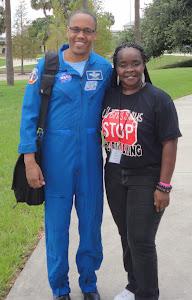 "NASA Astronaut ""Col. Alvin B. Drew & Mrs. Tonya Lewis"" CWAV"