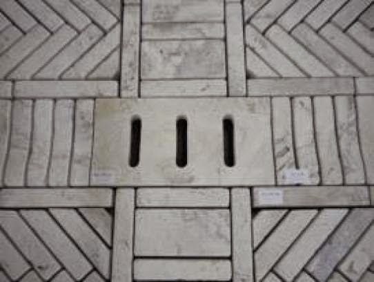 Il travertino la pietra di roma - Mattoni portabottiglie ...