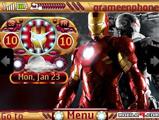 Tema Nokia C3 Iron Man