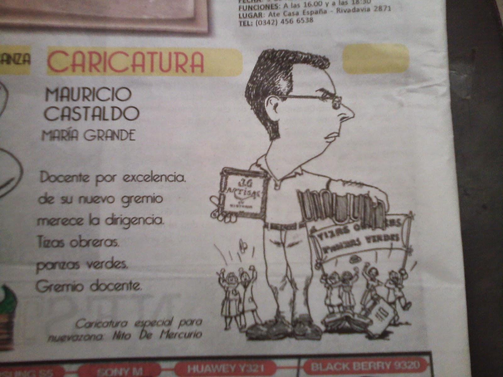 Gracias Maestro Nito. Periódico Nueva Zona