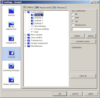Dexpot Utility for Virtual Desktops