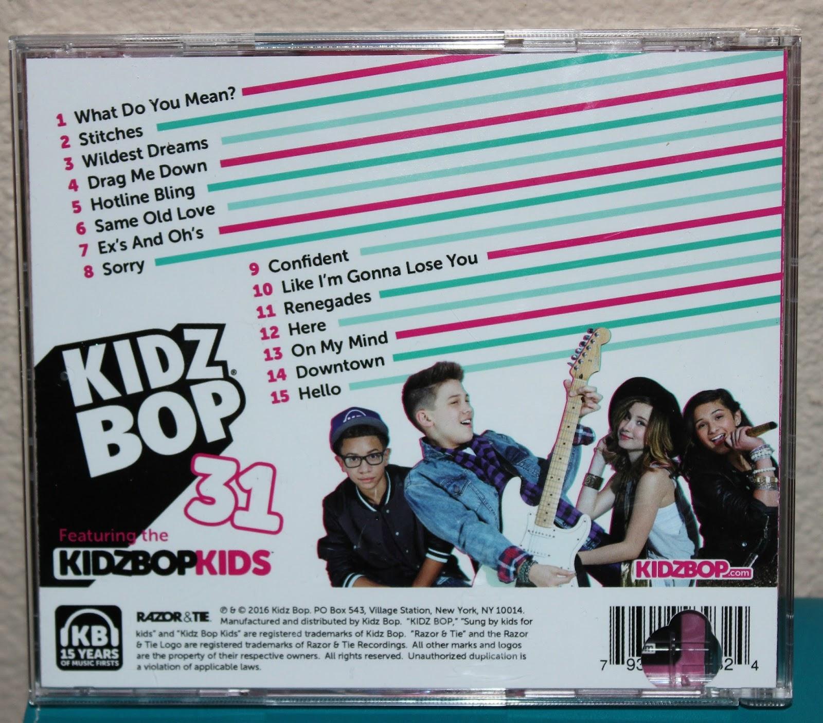 kidz bop 31 childrens music album release